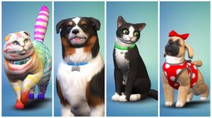 Анонсировано расширение The Sims 4: Dogs and Cats